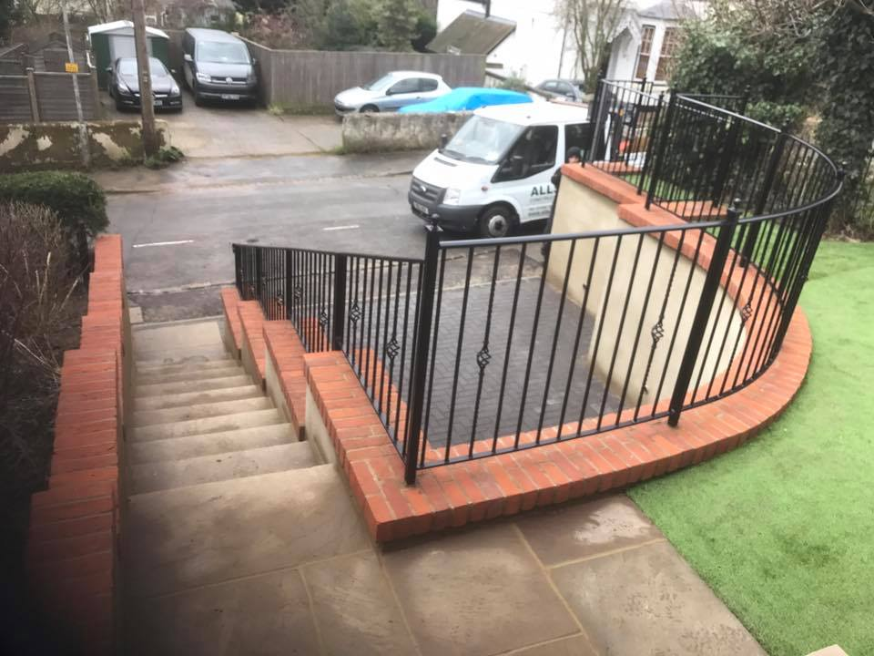 Steep driveway solution in High Wycombe