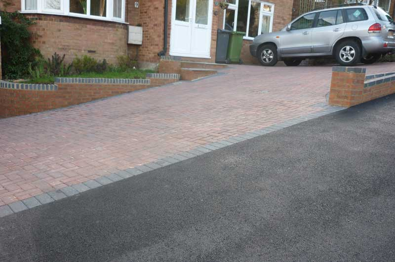 Brick driveway paving experts in High Wycombe